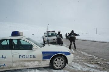 مسدود شدن محور شاهرود به گرگان به دلیل بارش برف