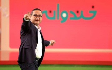 تقلید صدای جالب جواد خواجوی در برنامه خندوانه / فیلم