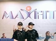 سارا و نیکا سریال پایتخت در باشگاه ورزشی / عکس