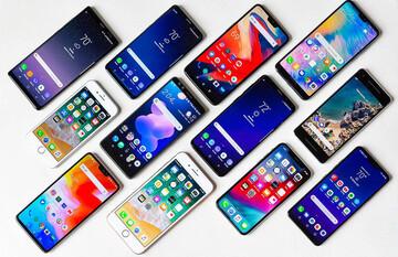جدیدترین قیمت انواع گوشی موبایل در بازار