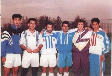 عکس قدیمی و دیده نشده استقلالیها در اردوی تیم ملی