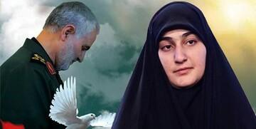 زینب سلیمانی: حجابتان را حفظ کنید تا دشمن آتش بگیرد