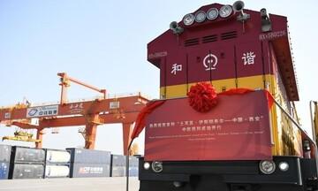 ورود اولین قطار باری ترکیه به چین