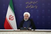 روحانی: مجلس باید به دولت بگوید بارکالله! / فیلم