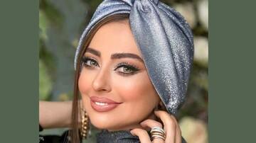 چهره ژولیده خانم بازیگر / عکس