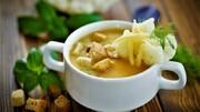 سوپ سبزیجات و لوبیا خوشمزه و خوش طعم + طرز تهیه