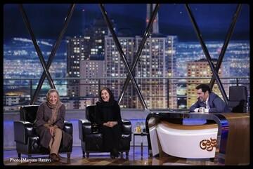 ماجرای شلوار کوتاه فاطمه معتمدآریا در برنامه همرفیق شهاب حسینی/ فیلم