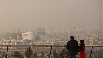 آلودگی هوا در تهران تا کی ادامه دارد؟