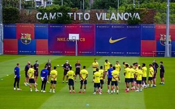 تست کرونای دو نفر در اردوی بارسلونا مثبت اعلام شد