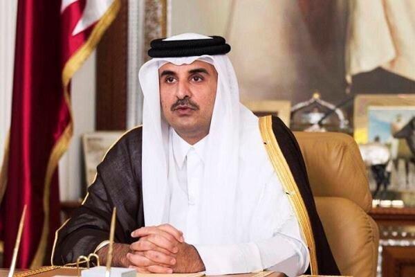 امیر قطر امروز راهی عربستان میشود