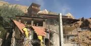 تخریب ویلای ۱۳ میلیارد تومانی در فیروزکوه/ عکس