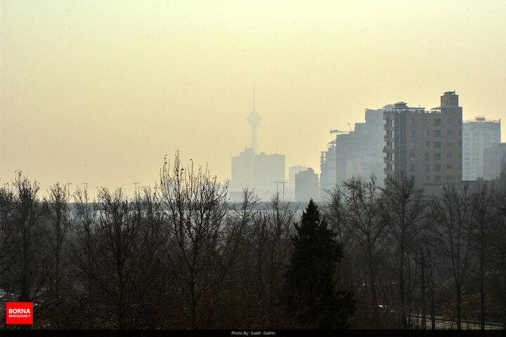 تنفس هوای کشنده در تهران ادامه دارد