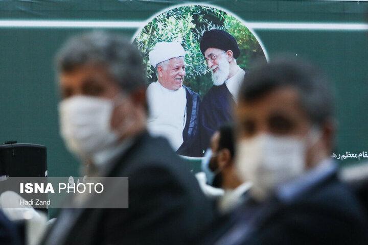 تصاویری از مراسم چهارمین سالگرد درگذشت آیت الله هاشمی رفسنجانی