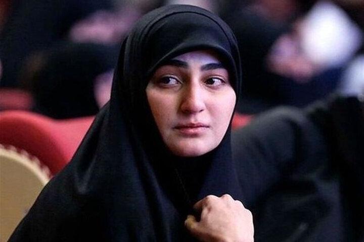زینب سلیمانی در کنار شیخ قیس خزعلی /عکس