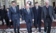 سفر غیرعلنی رئیس جمهور روسیه به دمشق