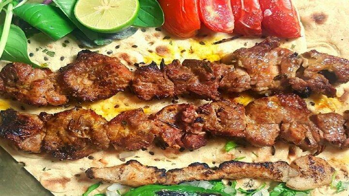 کنجه کباب لاری با گوشت خوشمزه و لذیذ + طرز تهیه