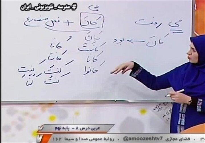جدول زمان پخش مدرسه تلویزیونی برای پنجشنبه ۲۵ دی