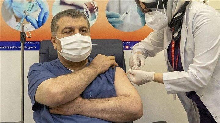 فرآیند واکسیناسیون در ترکیه از فردا آغاز میشود