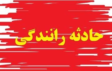 واژگونی سواری پژو ۴۰۵ در رفسنجان/ ۳ نفر کشته و مجروح شدند