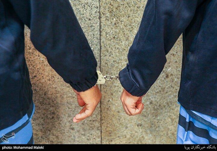 پلیس، سارقان را در حال سرقت از صرافی غافلگیر کرد