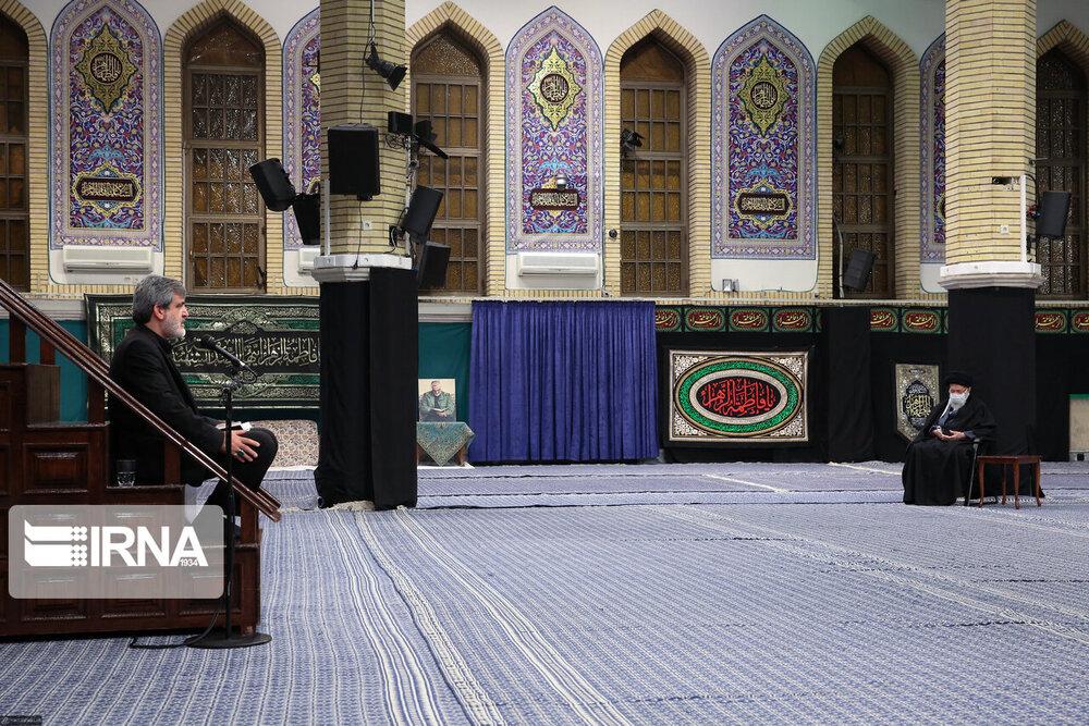 اولین شب عزاداری فاطمیه ۱۴۴۲ در حسینیه امام خمینی