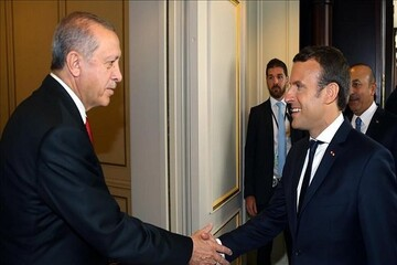 روسای جمهور ترکیه و فرانسه بر تقویت روابط دو کشور تاکید کردند