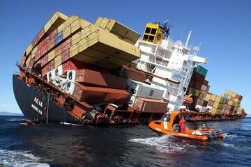 غرق شدن کشتی روسی در دریای سیاه