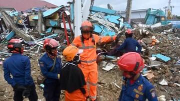 افزایش تعداد کشته شدگان زلزله اندونزی
