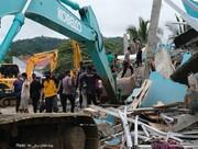 تصاویری دردناک از زلزله مهیب اندونزی