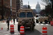 تدابیر شدید امنیتی در خیابان های واشنگتن / فیلم