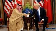 ترامپ به پادشاه بحرین نشان لیاقت داد