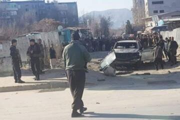 ۱۰ زخمی در پی انفجار بمب در افغانستان
