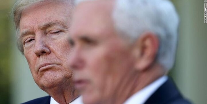 مایک پنس در مراسم خداحافظی ترامپ حاضر نمیشود