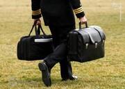 حمل کیف هستهای برای تحویل به بایدن /فیلم
