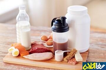 خوراکی های غنی از پروتئین بدون چربی
