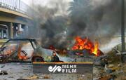 وقوع دو انفجار انتحاری و مرگبار در مرکز بغداد / فیلم