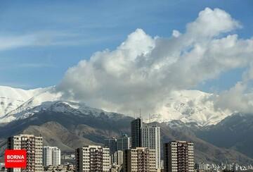 وضعیت کیفی هوای تهران در ۲ بهمن ۹۹
