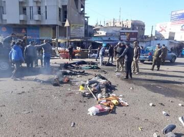 ۱۲ کشته و ۲۰ زخمی براثر انفجارهای امروز بغداد