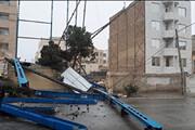 طوفان شدید و خسارت بار در مشهد/ فیلم