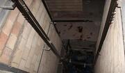 سقوط مرگبار جوان تهرانی در چاله آسانسور