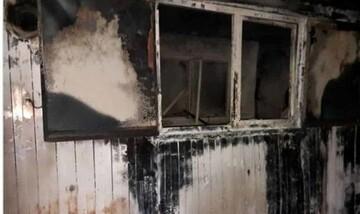 سوختگی ۸۰ درصدی یک معلم در حادثه آتشسوزی کانکس خوزستان