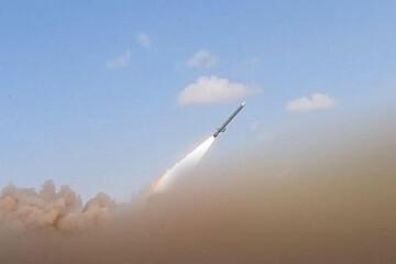حمله موشکی به آسمان ریاض/ فیلم