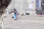 کشتن مرد گروگانگیر چینی توسط تک تیرانداز/ فیلم