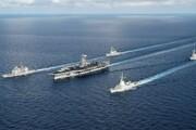 ورود ناو هواپیمابر آمریکا به دریای چین جنوبی