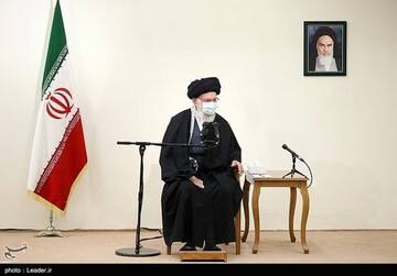 بیانات رهبر انقلاب در دیدار با خانواده شهید فخری زاده /فیلم