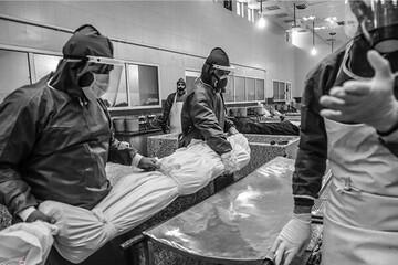 شیب صعودی فوتیهای کرونا از ابتدای بهمن؛ در مرز مرگهای سه رقمی هستیم