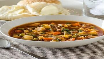 دستور پخت سوپگوشت و سبزیجات + مواد لازم
