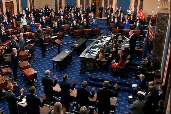 سنای آمریکا طرح استیضاح ترامپ را پذیرفت