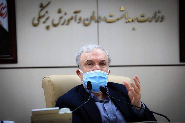 وزیر بهداشت: اولین محموله واکسن کرونا بزودی وارد کشور میشود