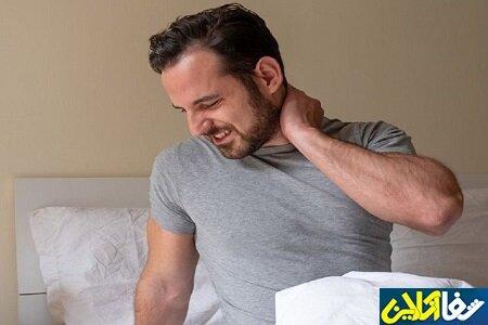 درمان سریع گردن درد در خانه